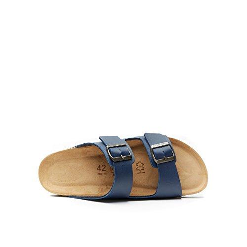 Homme Bleu Pour Mandèl Sandalo Sandales 7xnta6