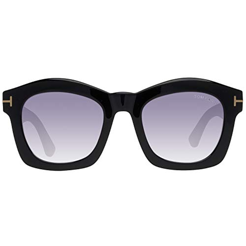 Tom Ford TF431 Greta 01Z Womens Black/Gold 50 mm ()