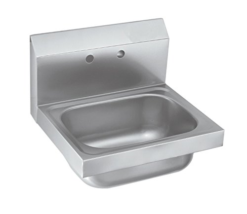 EQ Kitchen Line Stainless Steel Commercial Compartment Sink, 12'' L x 16'' W x 13'' H by EQ Kitchen Line