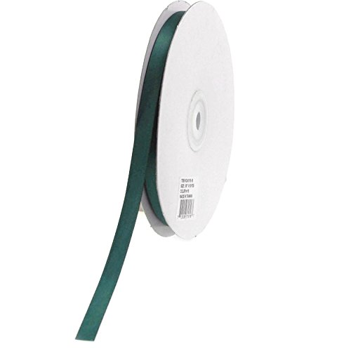 - Homeford Firefly Imports Double Face Satin Ribbon, 1/4-Inch, 50 Yards, Hunter Green 1/4