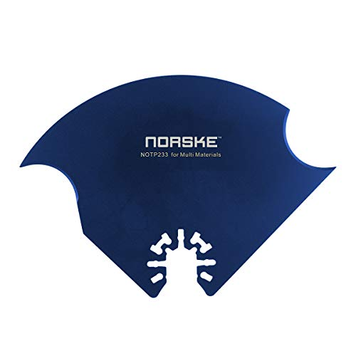 Norske Tools NOTP233 Multi-Material Oscillating Multi Tool Accessory (Best Dremel Roofing Shingles)