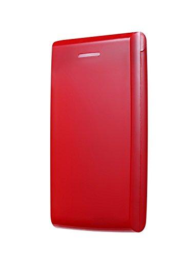 USB 3.0 External 2.5Inch SATA Hard Disk Drive Enclosure Case (Red) - 5