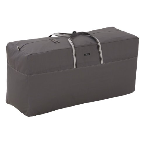 Classic Accessories Ravenna Patio Cushion/Cover Storage Bag, Oversized (Target Outdoor Storage)