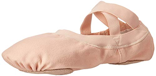 Bloch Women's Pro Elastic, Pink, 4 (D Roses Shoes Youth)