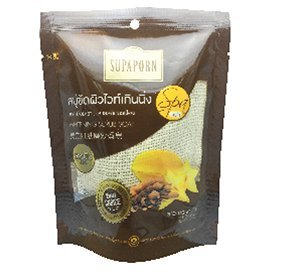 Scrub Soap Whitening Spa. Product of Thailand By Supaporn. (Foot Scrub Rituals)