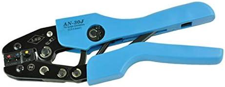 ケーブルカッター サージコネクタ用 圧着ペンチ 0.5〜6mm² 圧着工具 2-10AWG Pex圧着工具 手動ケーブルカッター