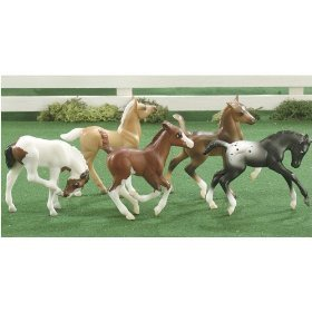 Foals Fun Breyer (Breyer Stablemates 5pc. Fun Foals)