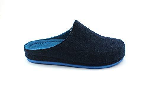 Ciabatte Blu Feltro Ci2254 Reps Azzurro Grunland Donna ItfqYxw