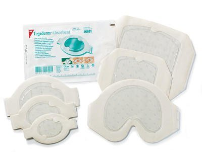 """3M Tegaderm Absorbent Clear Acrylic Dressing - 5.6"""" x 6.2..."""