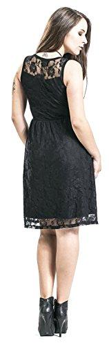 Sleeveless Schwarz Forplay Lace schwarz Dress Kleid RdqzqwF