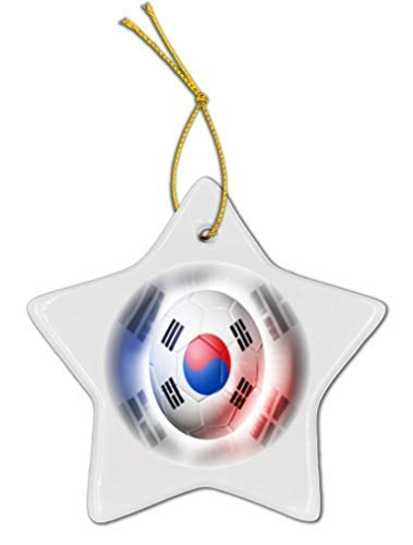 Football Shaped Car Flag - TiuKiu South Korea Football Soccer Flag Star Shaped 3
