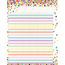 Incentive Charts For Teachers - Teacher Created Resources Confetti Incentive Chart