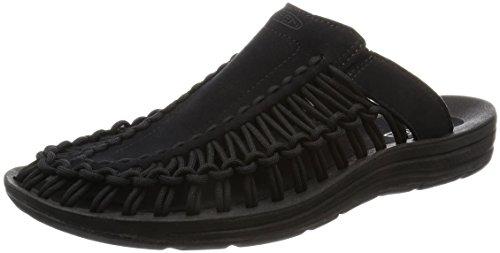 Keen Men's Uneek Slide-M Sandal, Black/Black, 12 M US