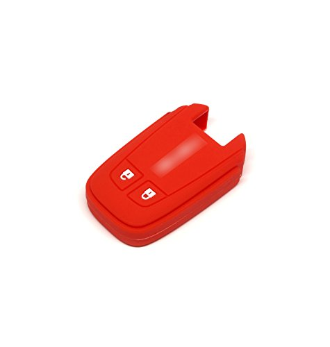 Isuzu X-series Mu-x 3.0 Silicone Protecting Remote Key Case Cover Fob Holder for All New Isuzu D-max / Mu-x 3.0 / X-series (red)