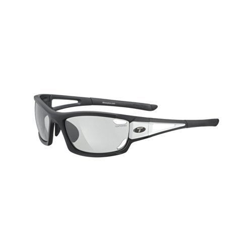 Tifosi Outdoor Travelling Dolomite 2.0 Fototec Sunglasses - Black/White by Tifosi Optics by Tifosi Optics