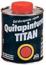 Titanlux - Gel decapante rápido- Quitapinturas plús, , 375 ML (ref ...