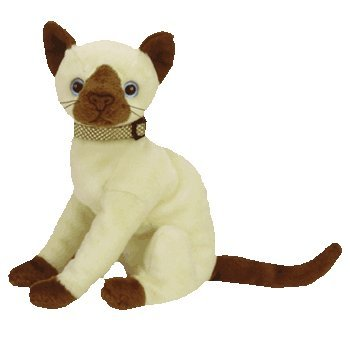 163801179a3 Image Unavailable. Image not available for. Color  Ty Beanie Babies Siam -  Siamese Cat