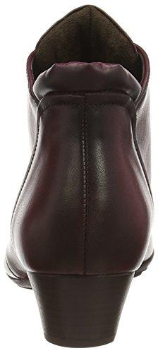 Gabor Mega - Botas de cuero mujer rojo - Red (Wine Leather)