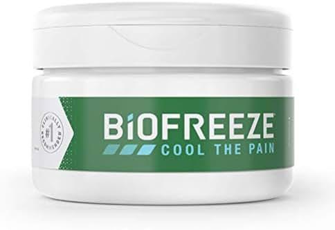 Biofreeze Pain Relief Cream, 3 oz. Jar