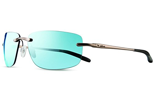 Revo Outlander Sunglasses, Gunmetal Frame, Blue Water 62mm Lenses, part of the Serilium - Parts Frames Glasses Of