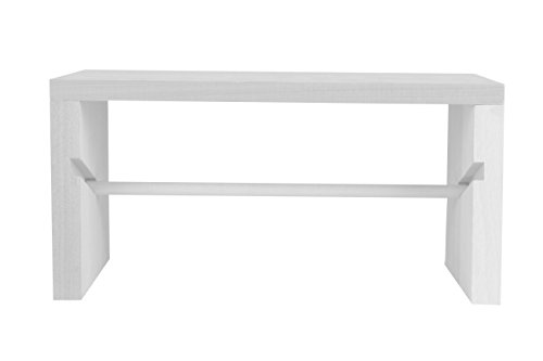Ribbon Spool Holder (Ribbon Storage Rack - White Wood, ArtBin 6826AG)