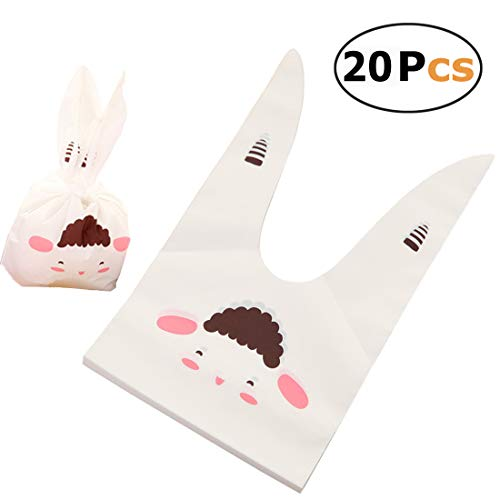 Gift Treat Bags Candy Cookie Chocolate Party Favor Goody Bags Wrapping Packaging 20pcs (Sheep) ()