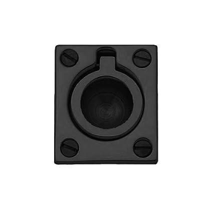 Baldwin 0393.102 Flush Ring Door Pull For Sliding Doors, Oil Rubbed Bronze