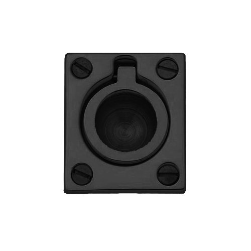Baldwin 0392.102 Flush Ring Door Pull for Sliding Doors, Oil Rubbed Bronze by Baldwin