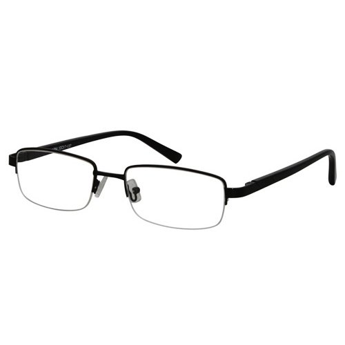EyeBuyExpress Rectangle Black Reading Glasses Magnification Strength - Express Vision Sunglasses Sale