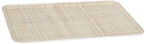 Carlisle 1220DFG061 Fiberglass Glasteel Decorative Metric Tray, 20.87