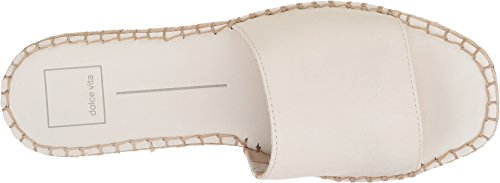 Leather Dolce Sandal Off Bobbi Slide Vita white Women's w0xOH4qrR0
