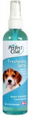 Perfect Coat Freshening Spray, Baby Powder Scent, 8-Ounce (P-82720) by Perfect Coat