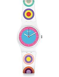 Women's Originals LW153 White Multicolor Rubber Swiss Quartz Fashion Watch