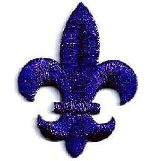 2 Lotus Pendant Charms Silver Tone with Dangle Dark Blue Rhinestone SC6452
