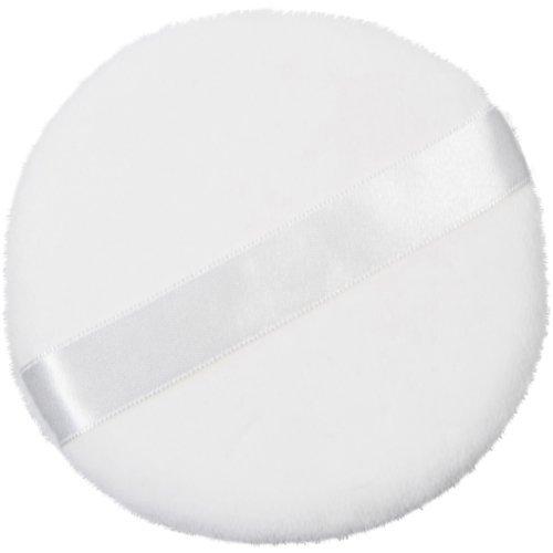 Zink Color Round Jumbo Velour Powder Puff W Ribbon 4 Diameter