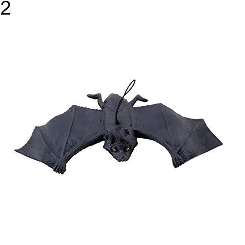 CHoppyWAVE Halloween Hanging Ornament Simulation Rubber Bat Party