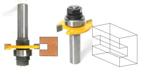 "1PC 1//4/"" SH Slot  Assembly Router Bit /& 4 Cutters  Set sct-888"