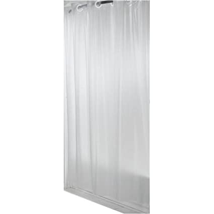 Amazon Hookless RBH14LS09 Shower Curtain Frosty White Home