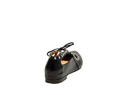 MARA BINI Ballerines Pour Femme Noir Noir It - Marke Größe