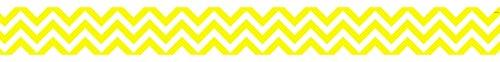 (Creative Teaching Press Borders Chevron Border, Ctp Yellow (01751) )