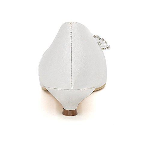L@YC Mujeres De La Boda De Tacones altos Peep Toe Zapatos De Boda De Gran TamañO Custom Multi-Color Champagne
