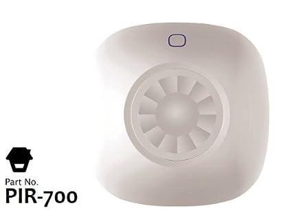 Sensor / Detector de Movimiento (PIR) inalámbrico para TECHO y 360º
