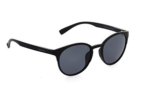 DESPADA, Made In ITALY Polarized Sunglasses for Men & Women | Glare-Free | 100% UV Blocking DS1510c1 (Matte Black, - Italy Sunglasses