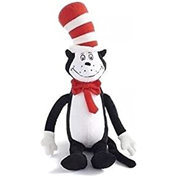 amazon com dr seuss the cat in the hat cat plush toy doll kohl s