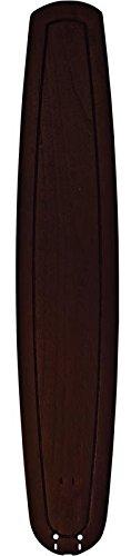 Fanimation B6800DWA Carved Wood Dark Walnut Blades for Big Island, 36-Inch, Set of 5