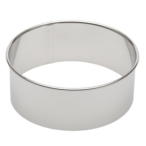 4.5 Inch Cookie Cutter - Ateco 14404 4.5-Inch Round Stainless Steel Cutter (2)