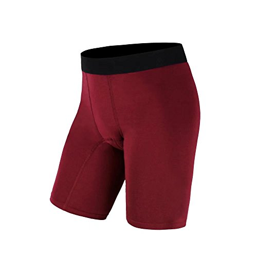 [해외] Tummy Control 육상 스포츠 러닝 운동 레깅스 Short Pants Quick Dry 단색 (Red S)/Men`s Tummy Control Athletics Sports Running Workout Leggings Short Pants Quick Dry Solid Color(Red S)