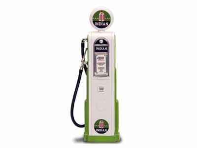 Replica Vintage Digital Gas Pump Indian Gasoline 1/18