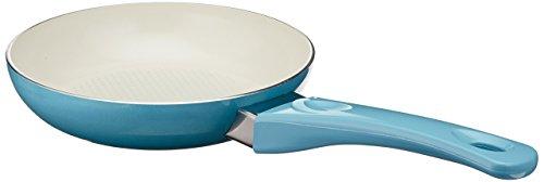 Uniware Super Quality Ceramic Non-stick Frying Pan, Unique Gradient Color (7.9 Inch, DodgerBlue)