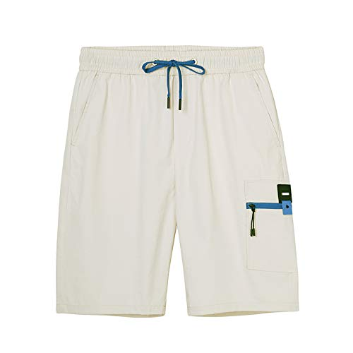 MADISON& Cargo Shorts Men Casual Shorts Straight Solid Color Work Shorts Men Summer Comfortable Men Short Pants ADK908120 ADK908120 kaqi M